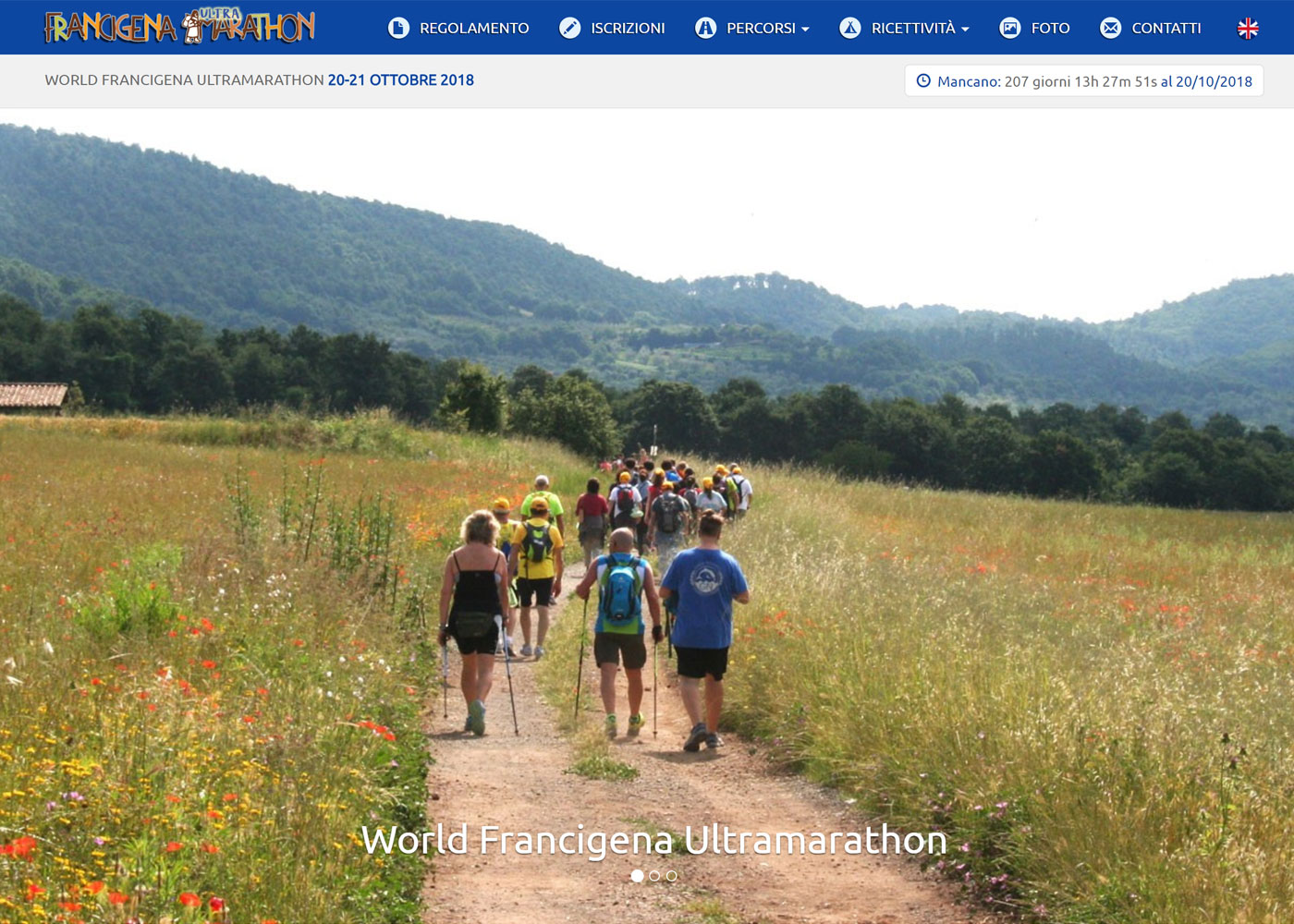 WORLD FRANCIGENA ULTRAMARATHON